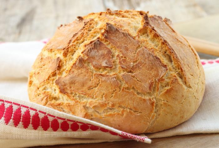 Хлеб с содой
