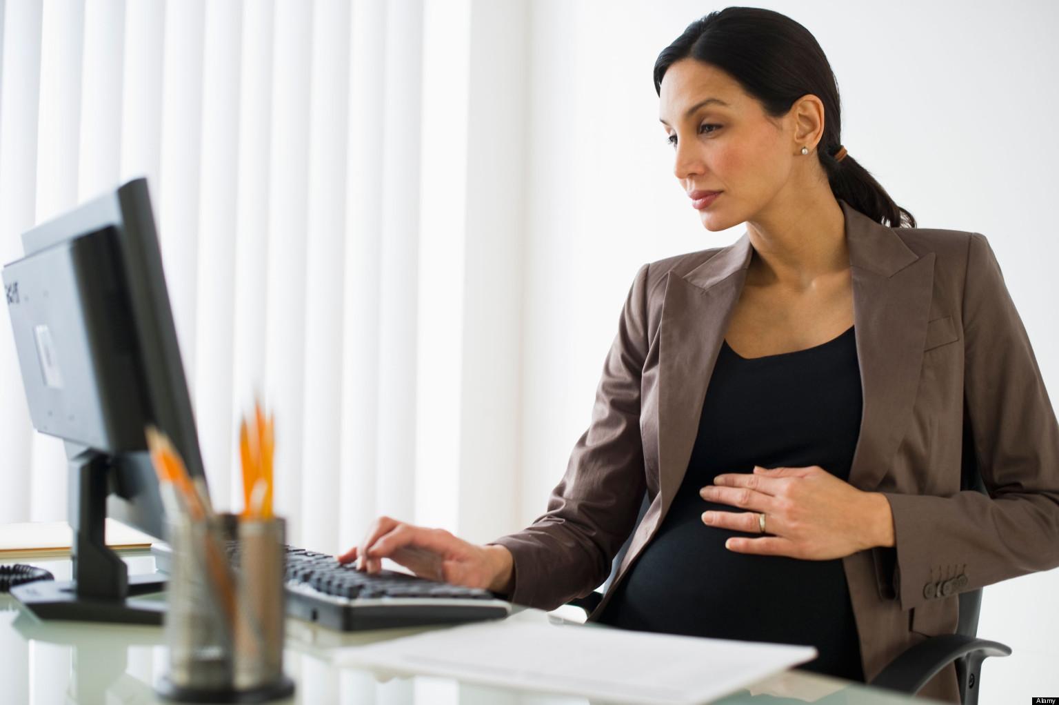 Защита беременной на работе