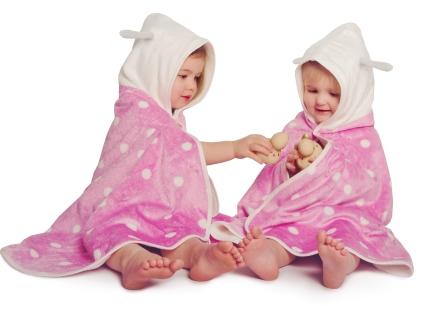CuddleDry - Pink Polka Dot