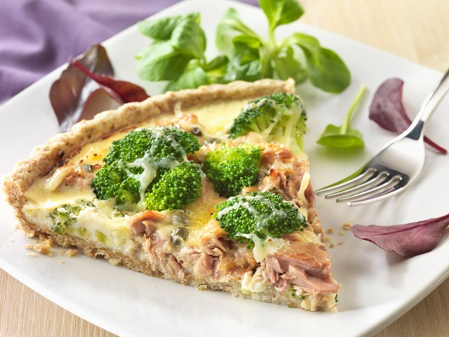 This Crustless Tuna Quiche recipe is from the Betty Crocker's Best of Healthy & Hearty Cooking Cookbook. Download this Cookbook today.