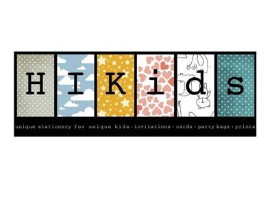 HIKids - unique stationery for unique kids