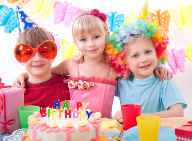 Favourite recipes for kids parties