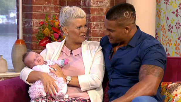 Kerry Katona Shares Adorable Picture Of Her New Baby