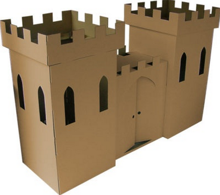 How To Make A Cardboard Box Castle