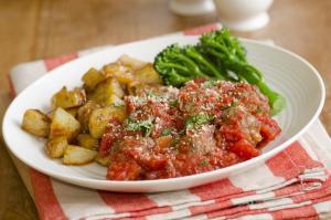 Turkey meatballs with vegetables