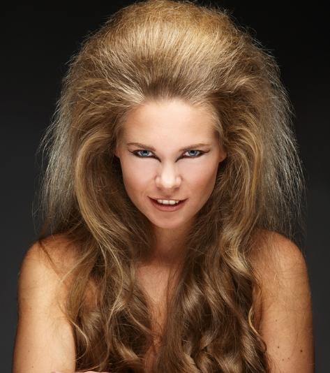 Halloween Hair Lion