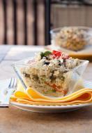 Quinoa and herb salad