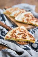 Courgette quesadillas