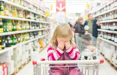 Shopping with your toddler