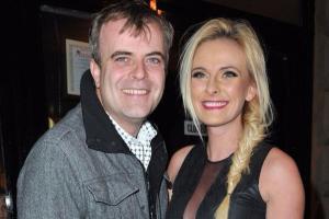 I owe my life: Corrie star Simon Gregsons wife Emma receives life-saving operation