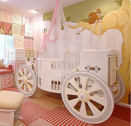 fantasy carriage crib upscale baby furniture t
