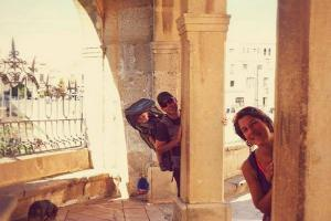 This couple quit their jobs to travel the world with their baby