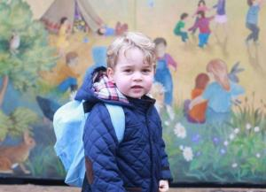 'He won't know what hit him': Kate Middleton on Prince George starting school