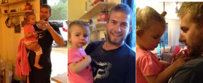 Husband wonders what his wife is up to... but then he looks at his daughters T-shirt