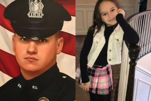 She looks up to police officers: 8-year-old buys policeman dinner