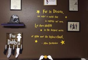 Were in LOVE! This Harry Potter baby nursery is pure magic