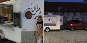 Parents are finding happiness in the morning due to one schools coffee cart