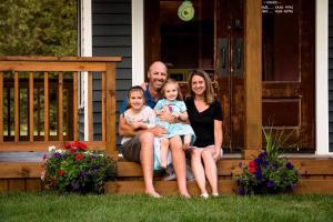 Dad builds dream playhouse for his beloved daughters