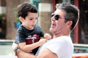 Watch: Simon Cowell gets the cutest surprise during an interview