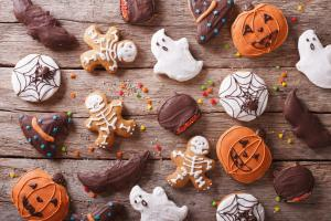 Cute and spooky! We love those delicious Halloween cookies