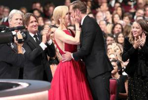 Why are you showing that? Nicole Kidman explains THAT kiss with Alexander Skarsgard