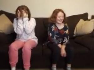 Sisters get the biggest shock in their grandparents house leaving them in tears