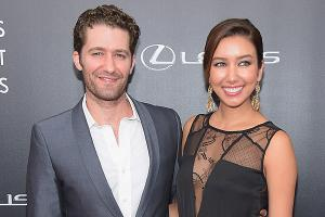Trust in us to protect you: Glees Matthew Morrison becomes a father for the first time