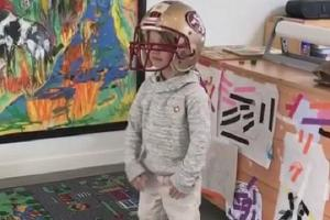 This video of Jessica Simpsons son proves his dad is his hero