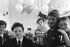 David Beckham reveals how fatherhood changed him