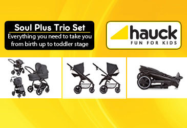 Soul plus trio set