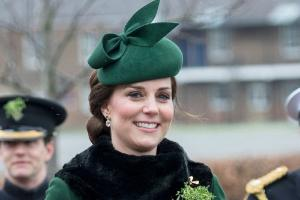 Kate Middleton looked RADIANT as she celebrated St. Patricks Day