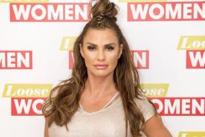 Katie Price was suffering a miscarriage when she ran the London Marathon