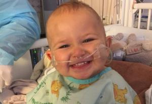 Parents heartbroken as toddler dies of cancer just hours before sister is born