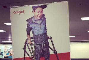 Disabled boys reaction to inclusive advert will warm your heart