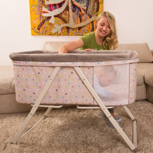 Win this gorgeous travel cot