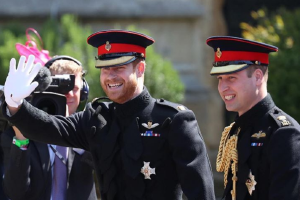 Prince Harry broke a huge royal tradition at his wedding today