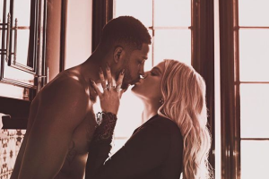 Tristan Thompson shares sweet first photo of daughter True and son Prince