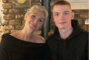 Heartbroken: Ronan Keating and Yvonne Connolly send son off to Australia