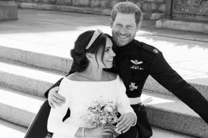 Meghan Markle reveals her something blue from her magical wedding