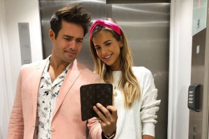 Seeing double: Baby Theodore is the split of his dad Spencer Matthews