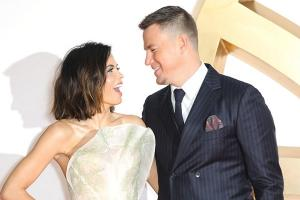 Channing Tatum and Jenna Dewan reunite for family Halloween outing