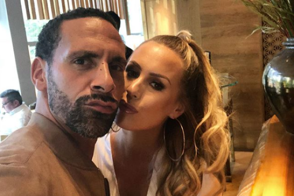 Kate Wright hits back at inaccurate reports after Rio Ferdinand popped the question