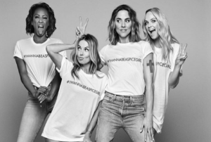 The Spice Girls are raising money for womens charities with these t-shirts