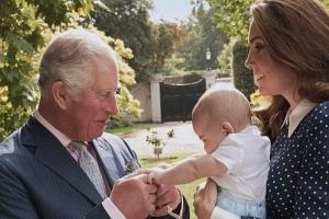 The mini royals steal the show in Prince Charles 70th birthday portrait