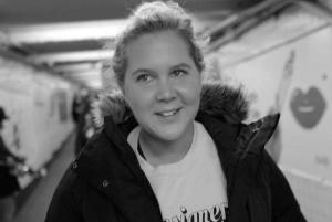 Glowing: Amy Schumer is feeling better and jokes about her bump in post