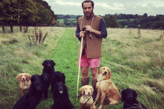 Kate Middletons brother James has finally made his dog-lover Instagram public